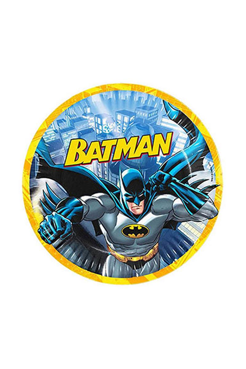 Batman Kağıt Tabak 23cm 8li