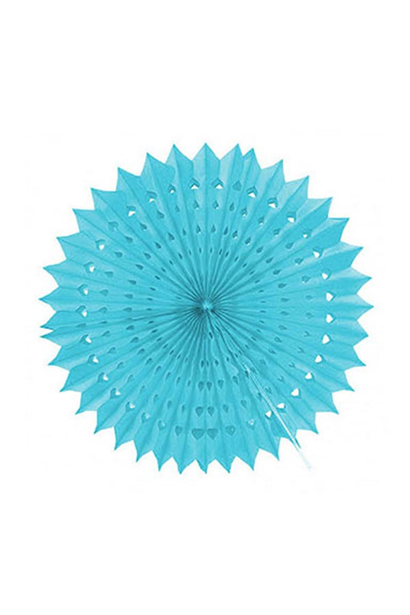 Bebek Mavisi Yelpaze Süs 50cm 1 Adet