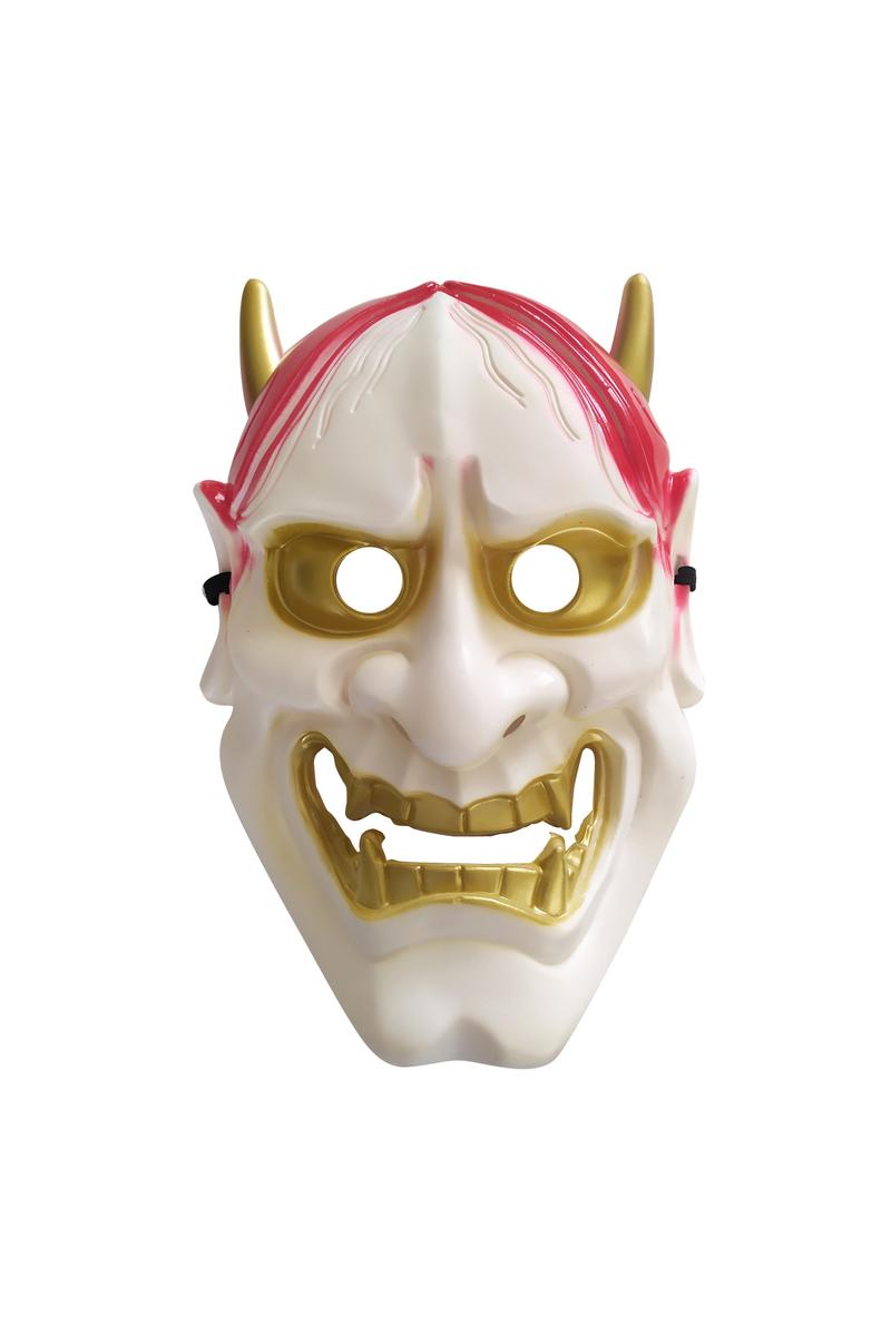 Beyaz Devil Şeytan Maske 1 Adet