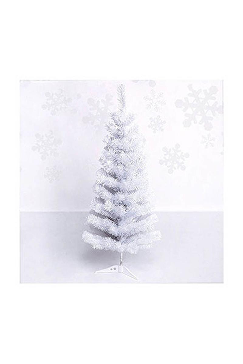 Beyaz İğne Yaprak Yılbaşı Çam Ağacı 150cm 140 Dal 1 Adet