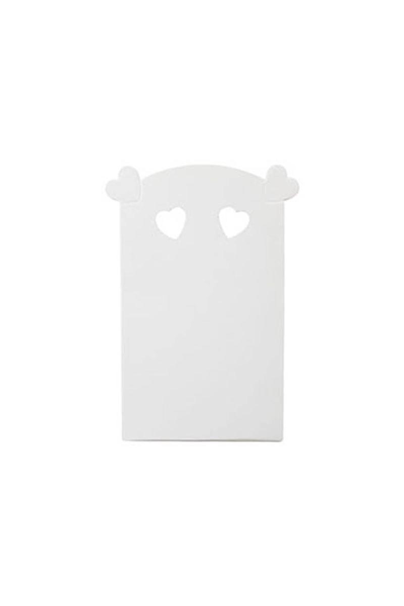 Beyaz Kalpli Kutu 10lu