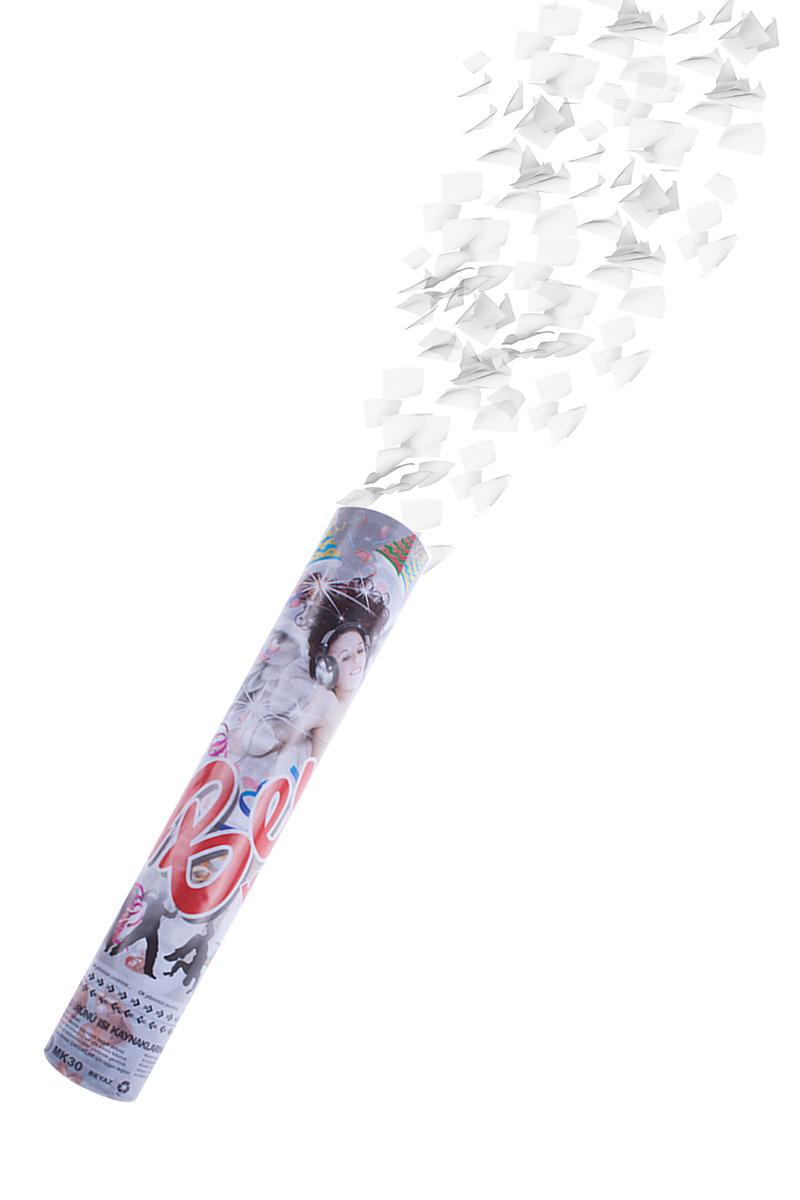Beyaz Konfeti 30cm 1 Adet