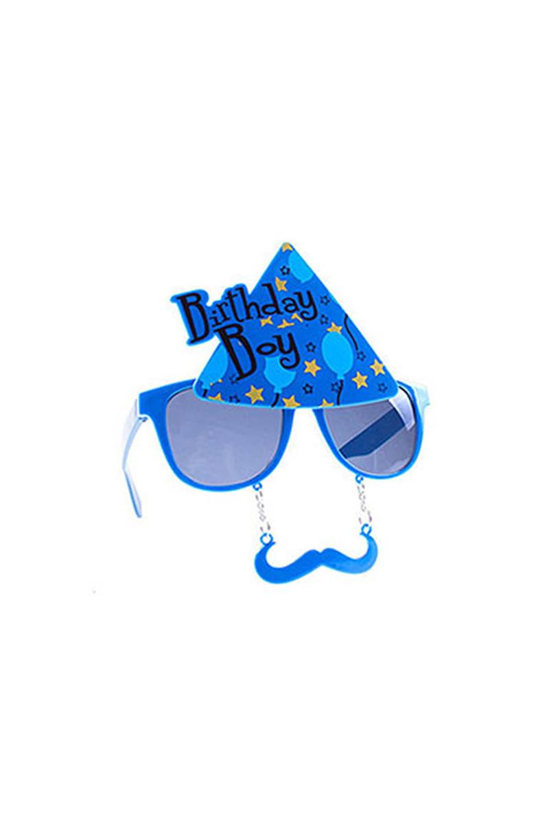 Birthday Boy Mavi Gözlük 1 Adet