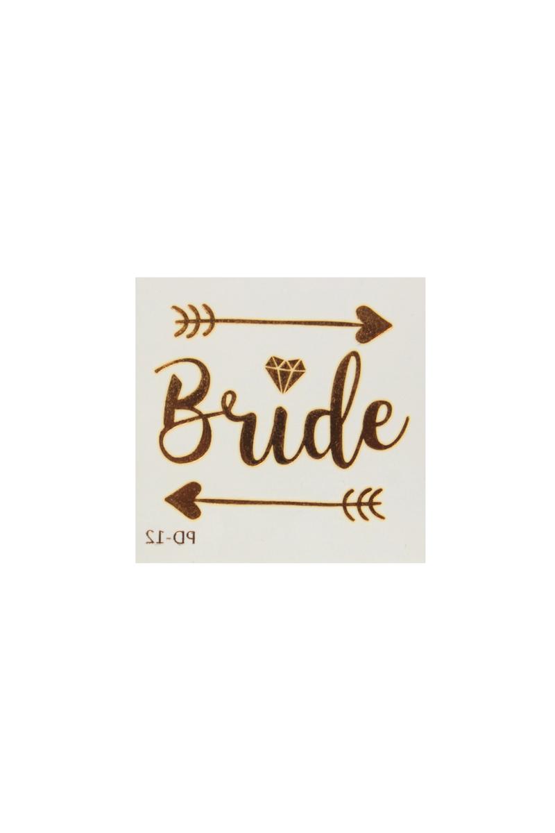 Bride Oklar Taşlı Dövme 1 Adet - Thumbnail