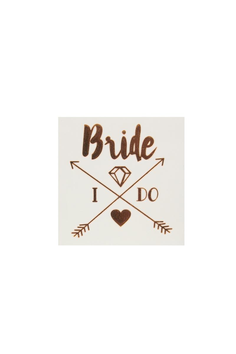 Bride Taş ve Kalpli Dövme 1 Adet - Thumbnail