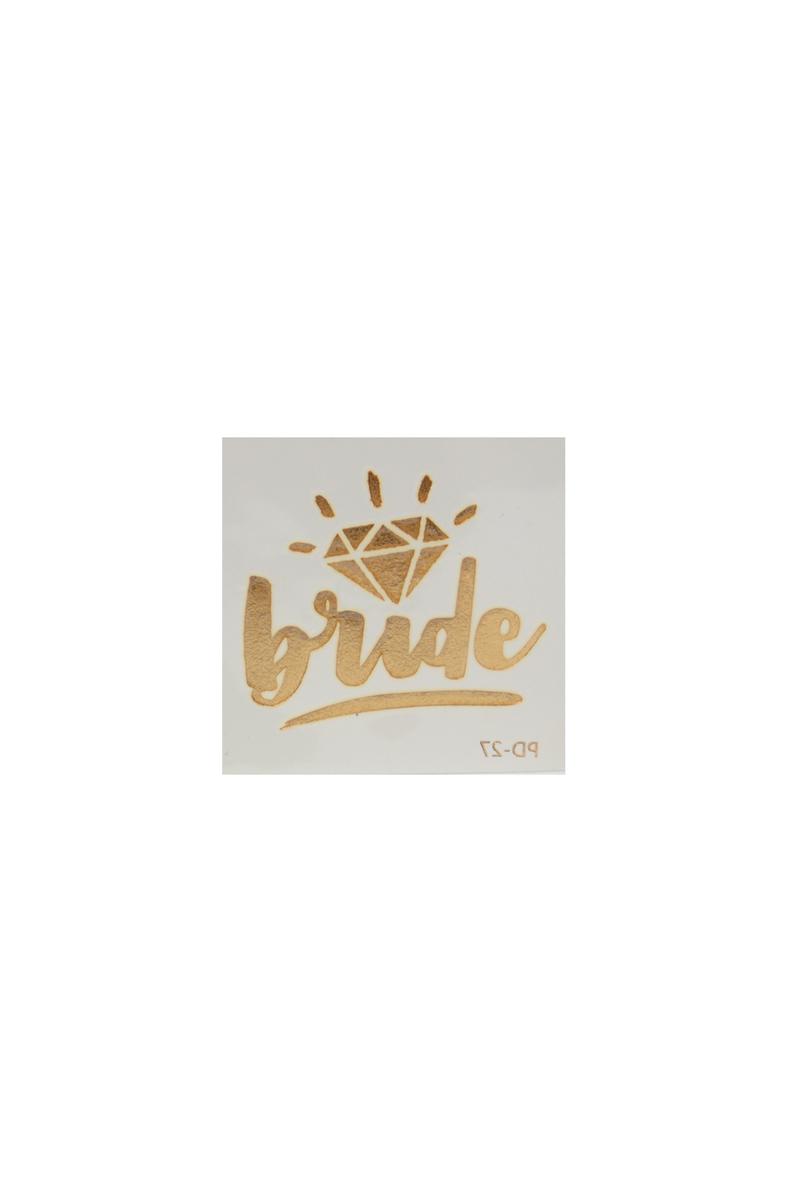 Bride Tektaş Dövme 1 Adet - Thumbnail