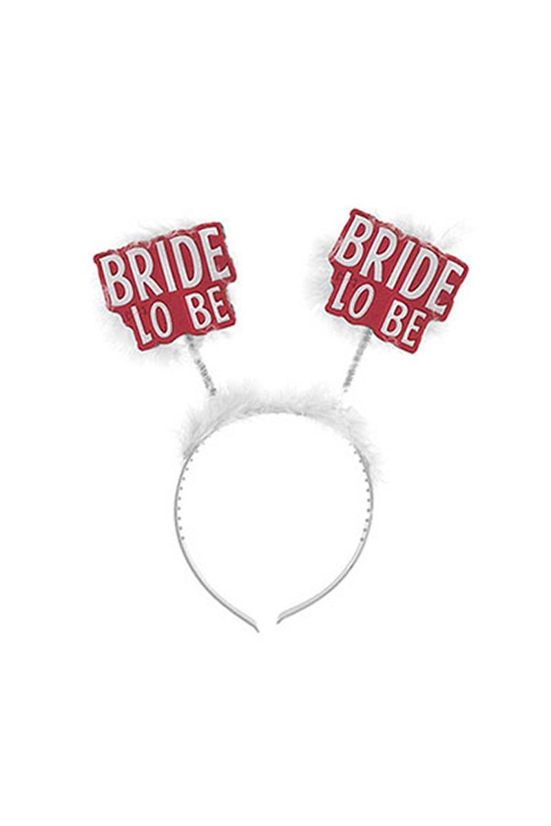 Bride to Be Beyaz Parti Taç 1 Adet