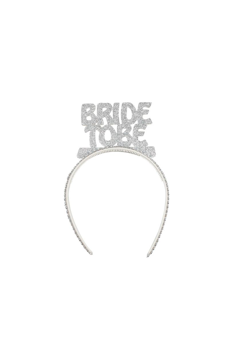 Bride To Be Gümüş Simli Eva Parti Taç 1 Adet