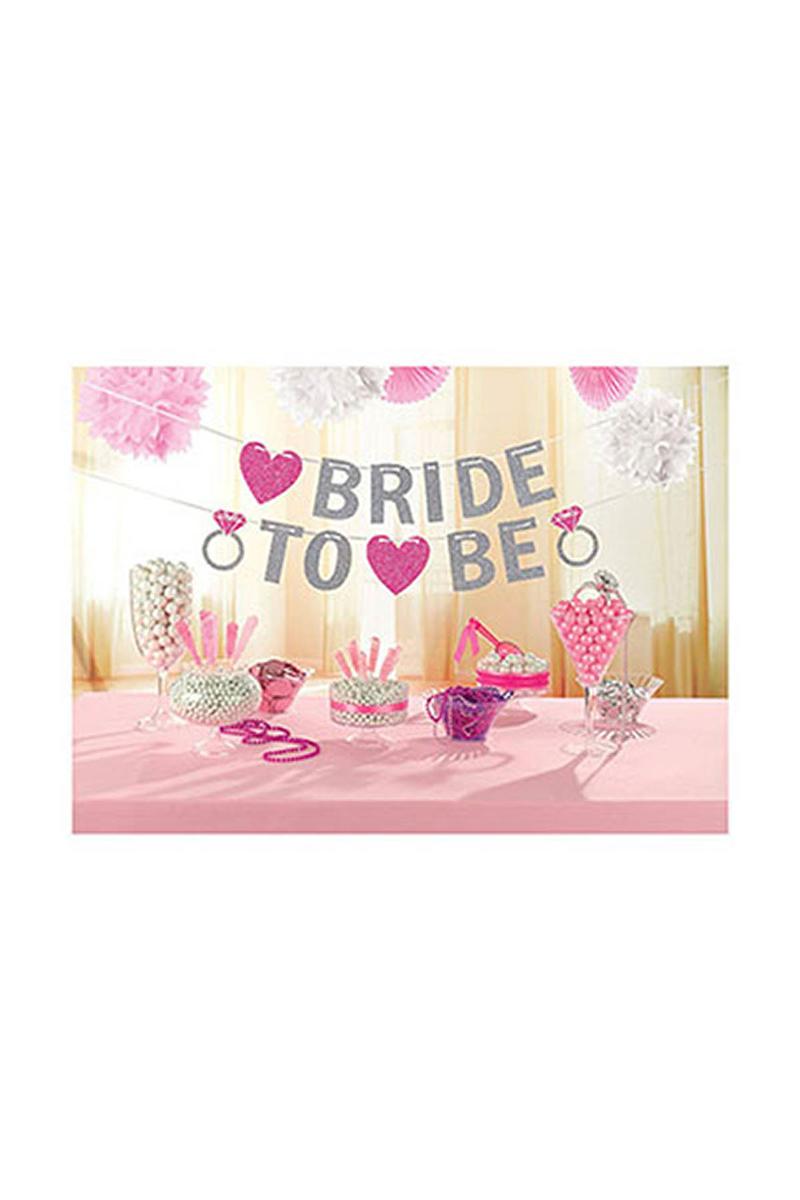 Bride To Be Harf Afiş 1 Adet