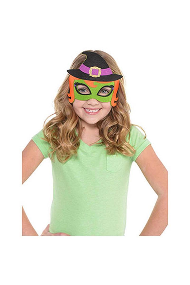 Cadı Keçe Maske 1 Adet