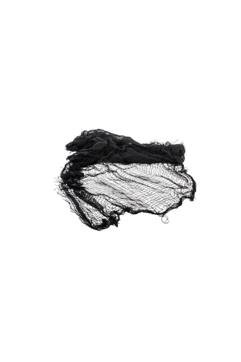 Cadılar Bayramı Siyah Ağ Dekor Süs 76x198cm 1 Adet