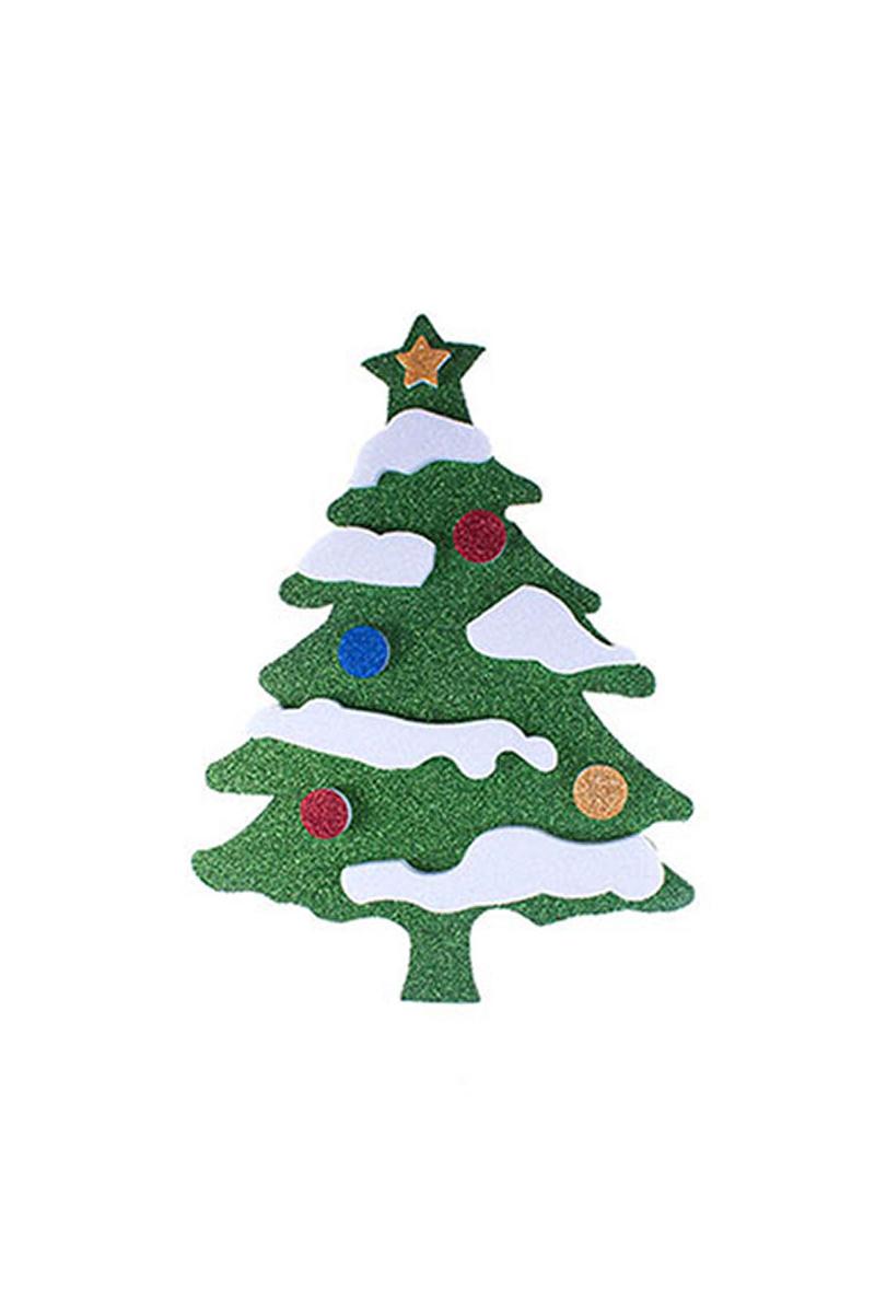 Çam Ağacı Duvar Süs 45cm 1 Adet