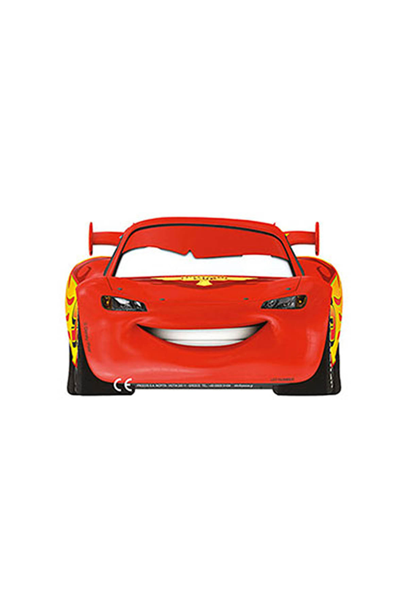 Cars Formula Kağıt Maske 6lı