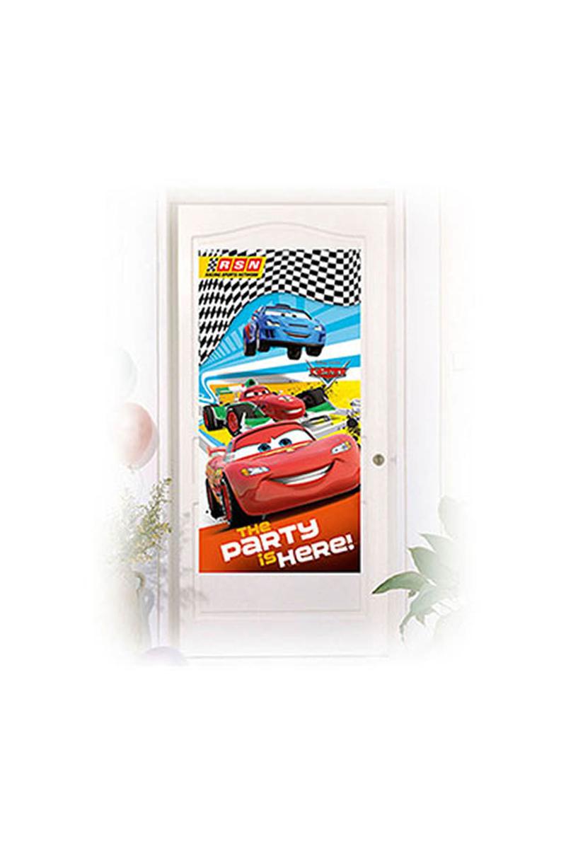 Cars Formula Kapı Afişi 1 Adet