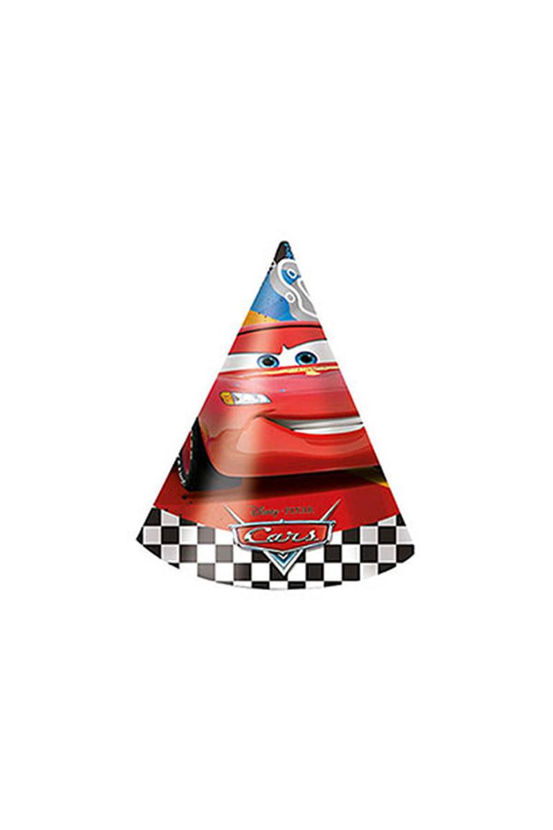 Cars Formula Külah Şapka 6lı