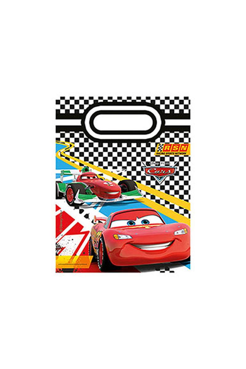 Cars Formula Parti Çantası 6lı
