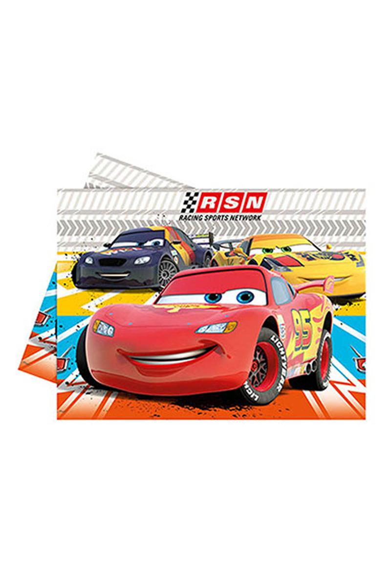 Cars Formula Plastik Masa Örtüsü 120x180cm 1 Adet