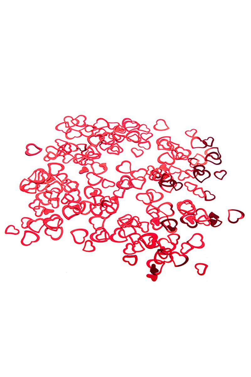 Çerçeve Kırmızı Kalp Masa Konfeti 15gr