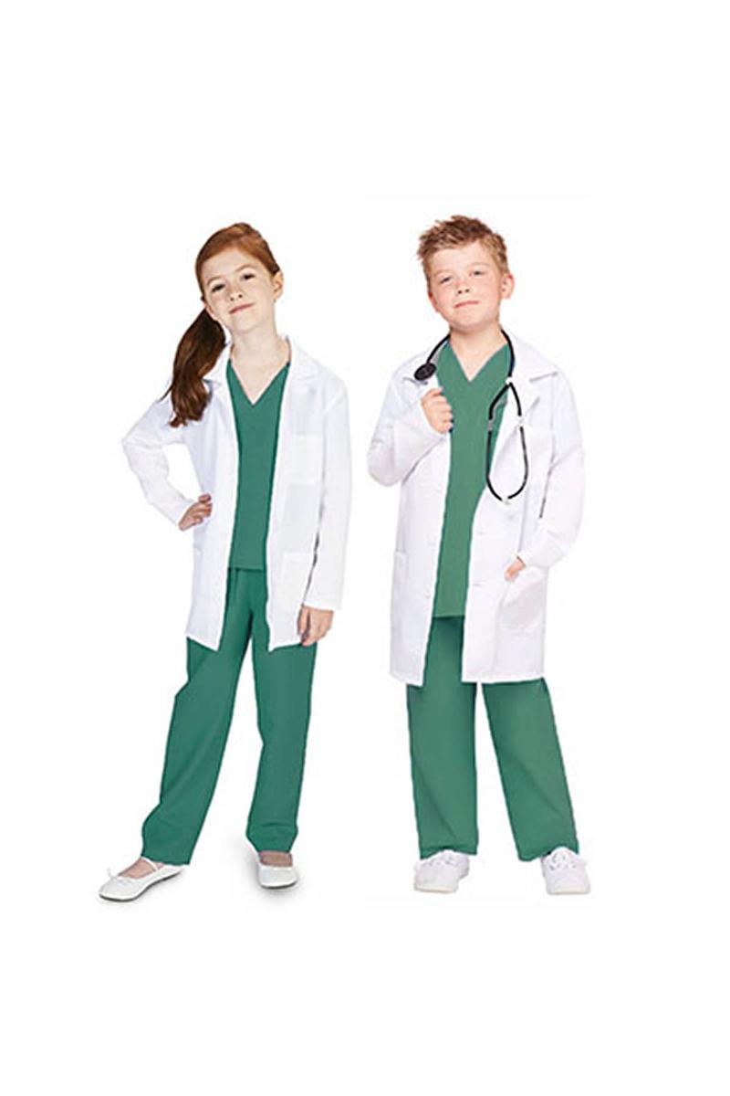 Cerrah Doktor Çocuk Kostümü 5-6 Yaş 1 Adet