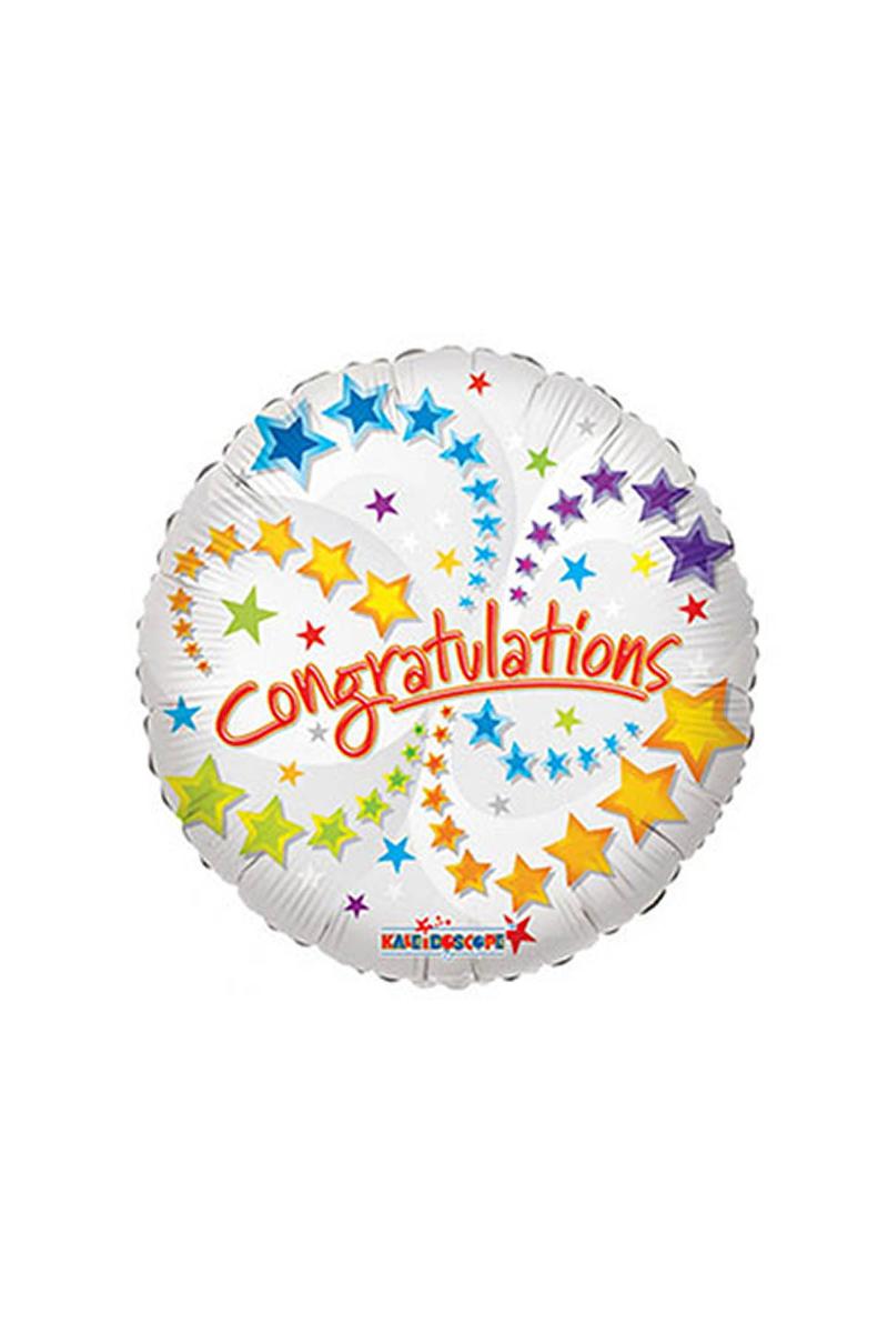 Tebrikler Folyo Balon 45cm 1 Adet