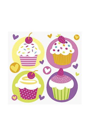 Cupcake Partisi Peçete - Thumbnail