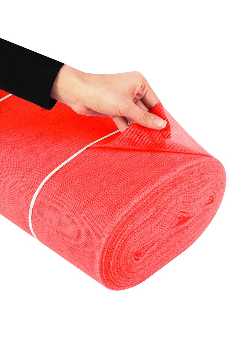 Dekoratif Grek Tül 2m x 5m Kırmızı 1 Adet