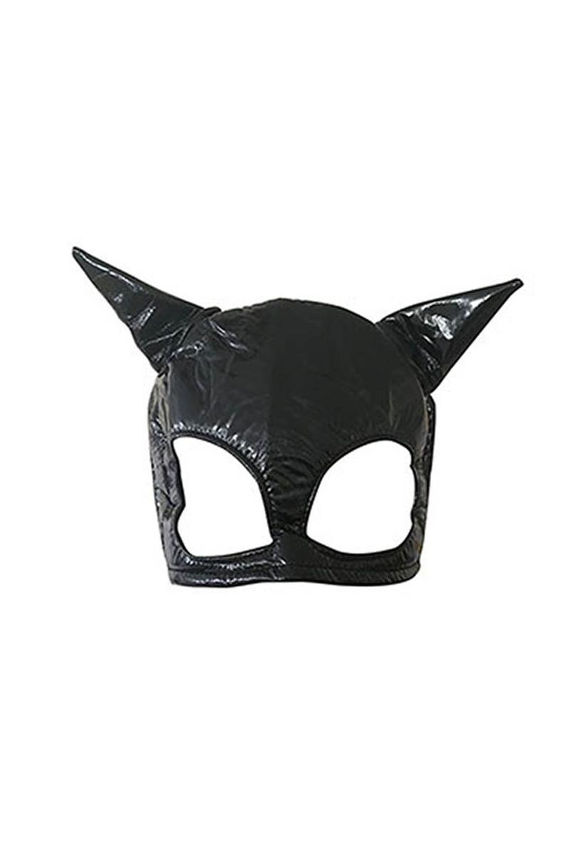 Deri Kedi Maske 1 Adet
