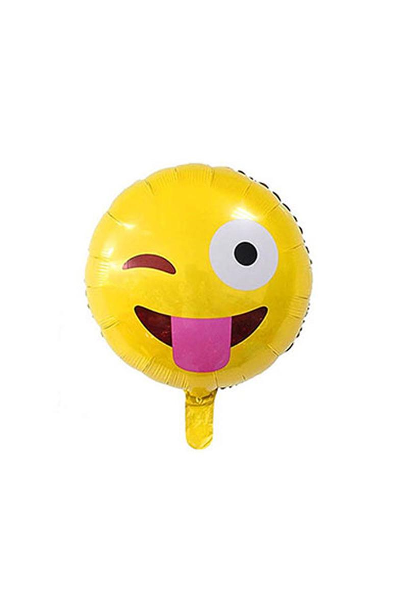 Dil Çıkaran Emoji Folyo Balon 40cm 1 Adet