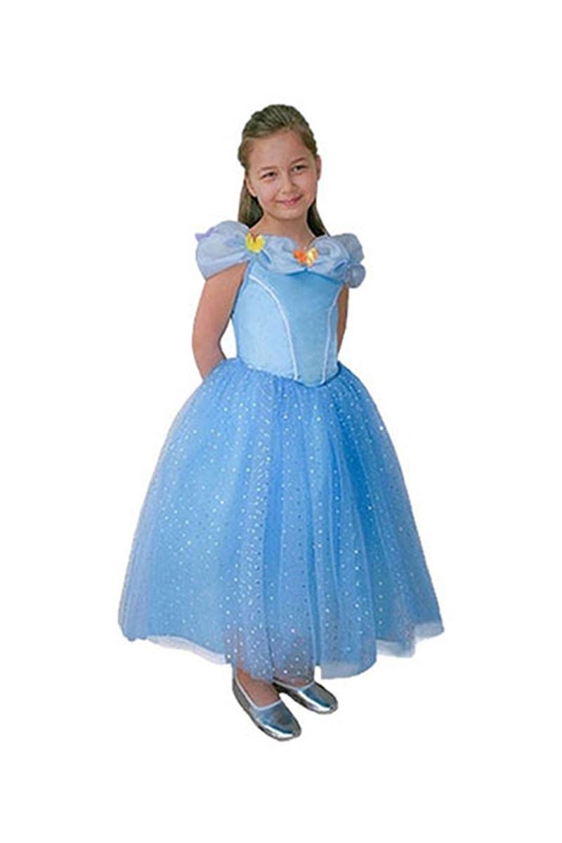 Disney Cinderella Butik Kostüm 4-6 Yaş 1 Adet