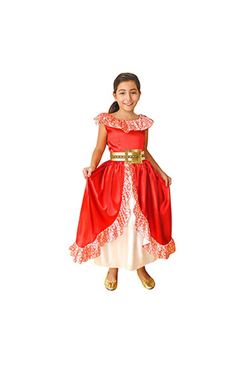Disney Elena Çocuk Kostüm 4-6 Yaş 1 Adet