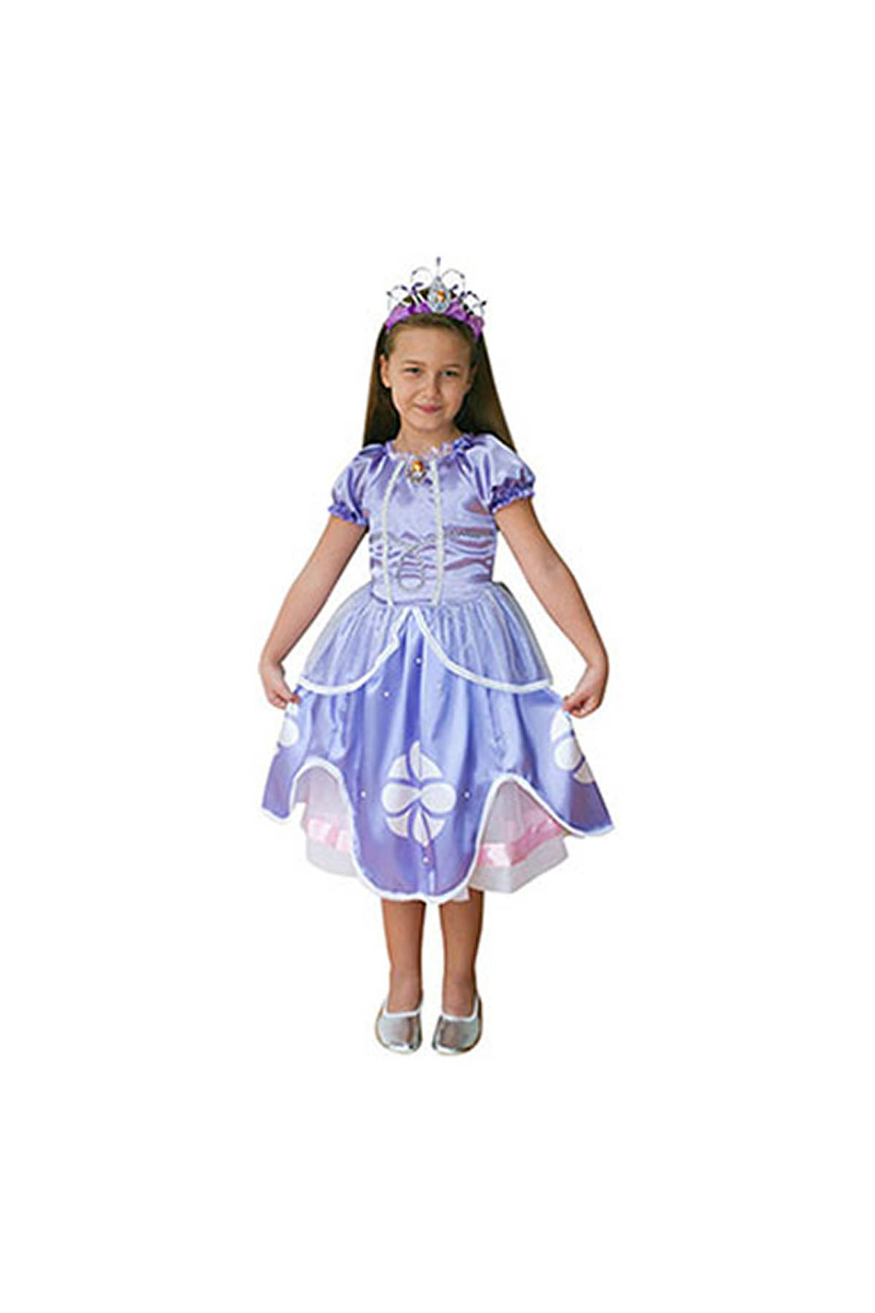 Disney Sophia Butik Kostüm 7-9 Yaş 1 Adet