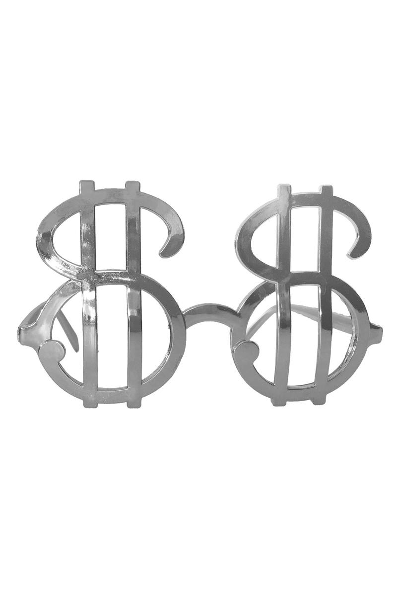 Dolar Gözlük Gümüş 1 Adet