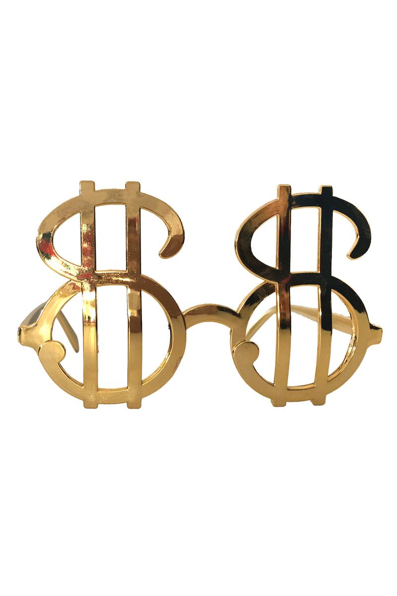 Dolar Gözlük Altın 1 Adet - Thumbnail