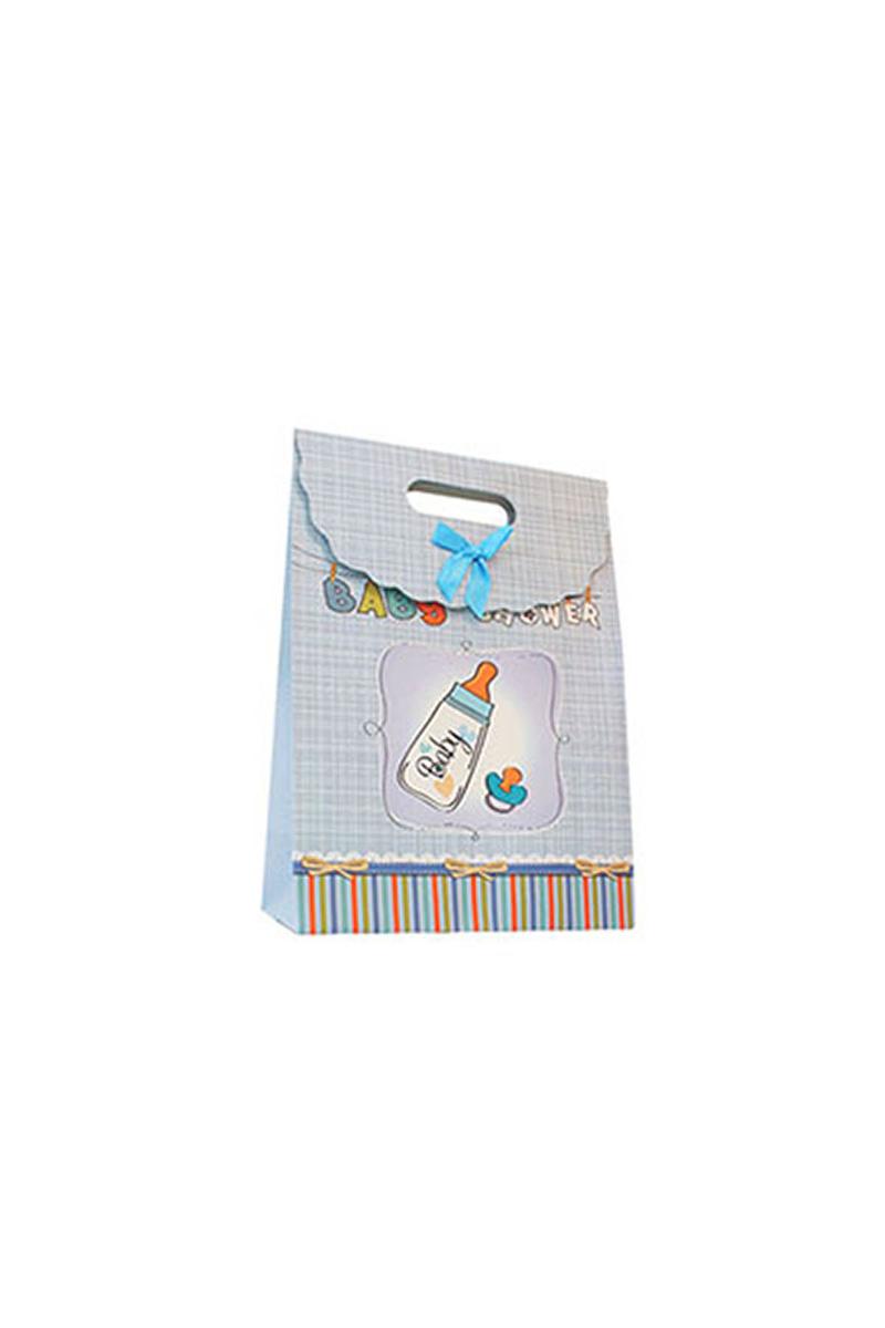 Erkek Bebek Lüks Hediye Paketi 19x27cm 1 Adet