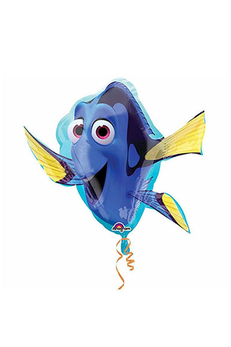 Kayıp Balık Dorry SuperShape Folyo Balon 1 Adet