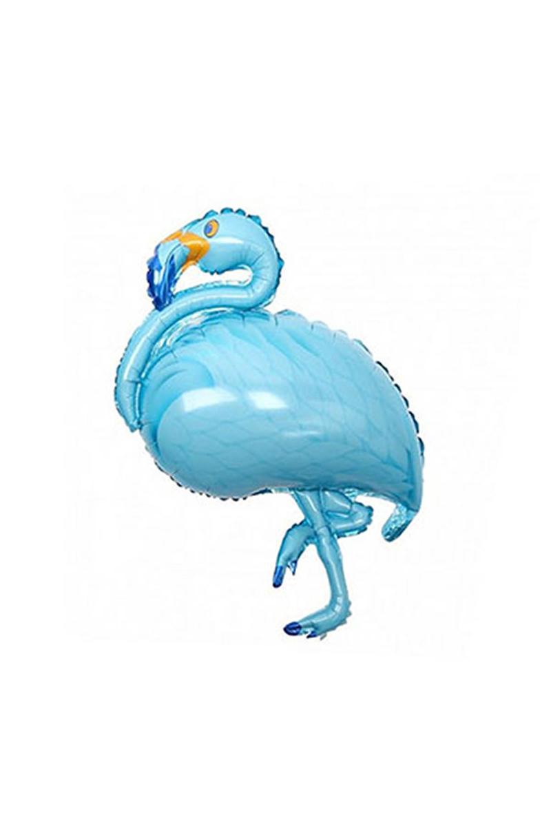 Flamingo Folyo Balon Mavi 85cm x 35cm 1 Adet