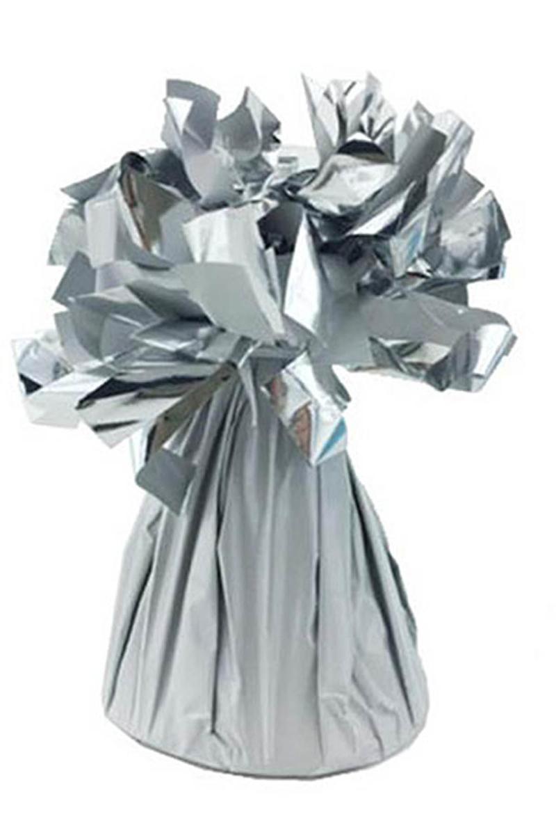 Metalik Beyaz Folyo Balon Ağırlığı 170gr 1 Adet