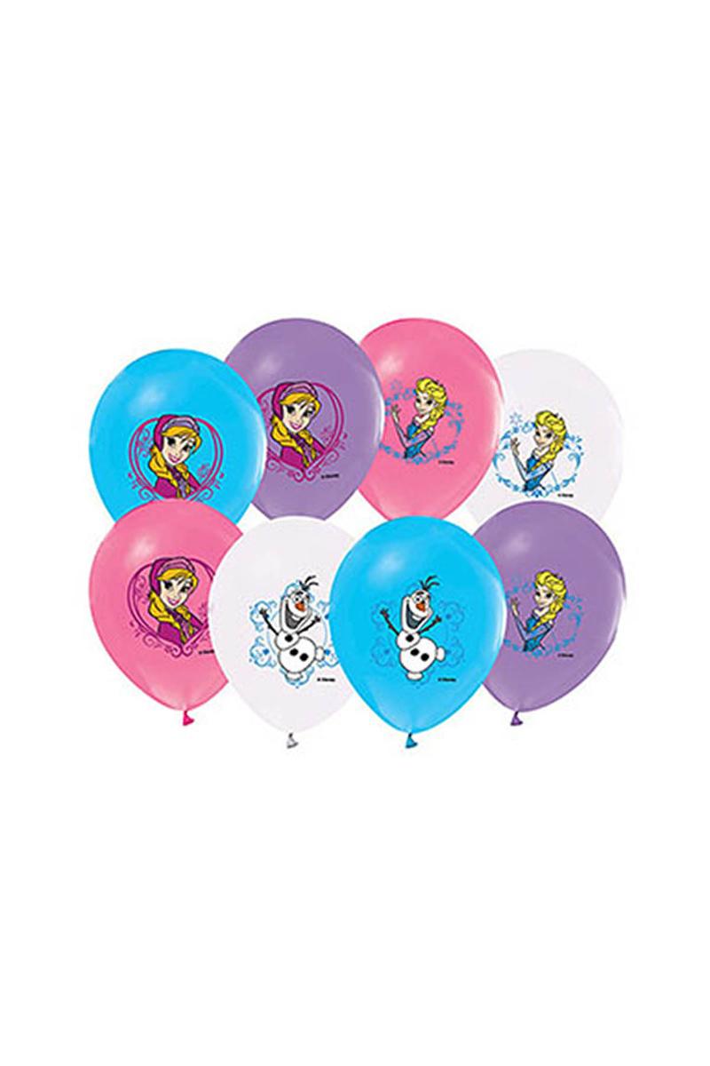 Frozen Baskılı Balon 10lu - Thumbnail