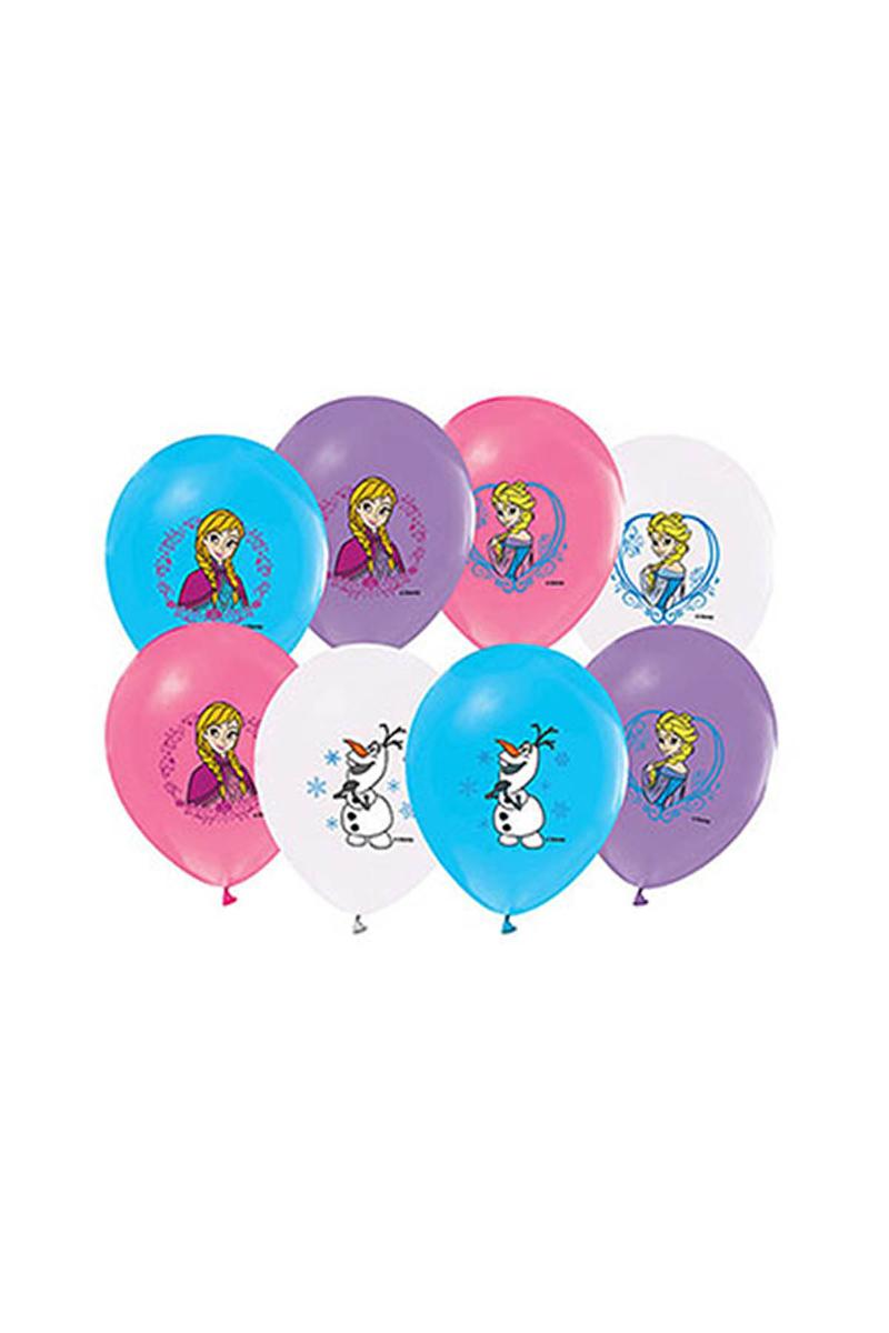 Frozen Baskılı Balon 10lu
