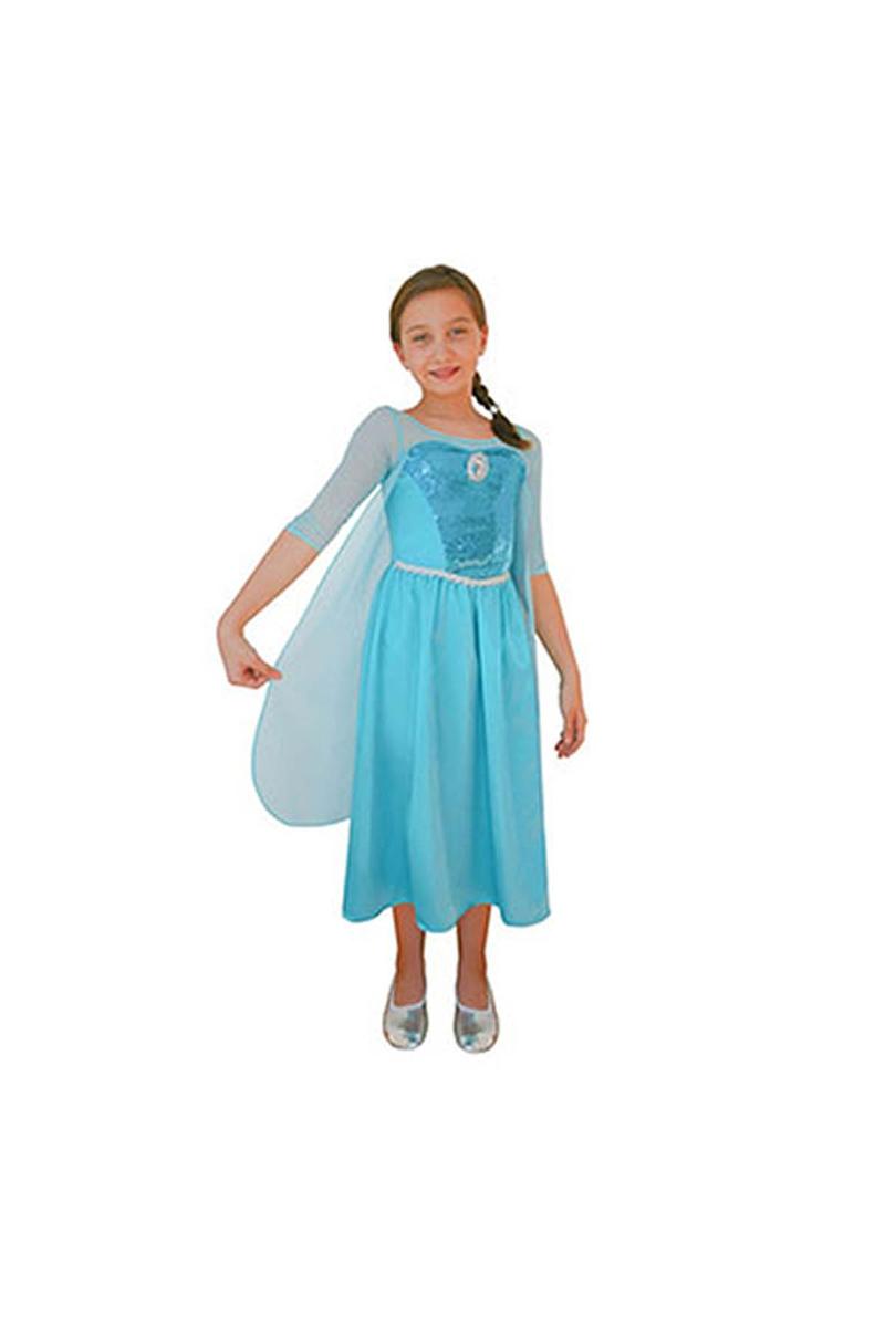 Frozen Buzlar Prensesi Elsa Kostüm 4-6 Yaş 1 Adet