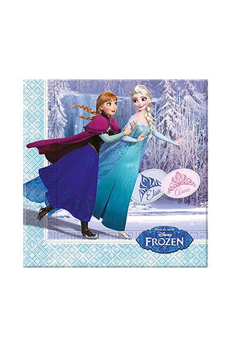 Frozen Ice Skating Kağıt Peçete 33 x 33cm 20li