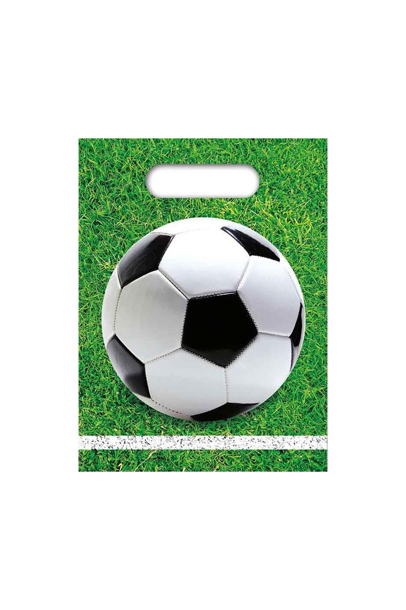 Futbol Partisi Çimler Parti Çantası 6lı