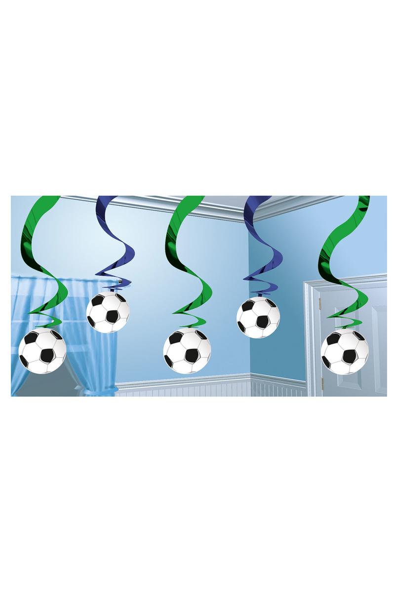 Futbol Partisi Mini Süs Dalgası 5li