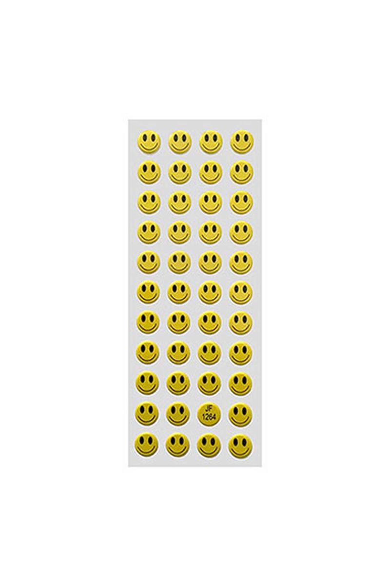 Gülen Yüz Sticker Küçük Boy 44lü
