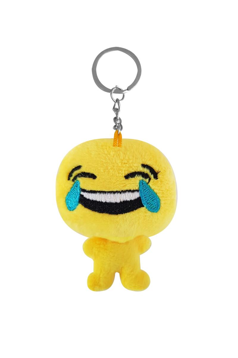 Gülmekten Ağlayan Peluş Emoji Anahtarlık 6cm 1 Adet