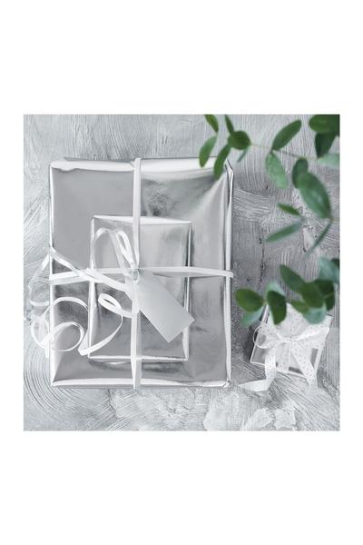 Gümüş Paketleme ve Süs Kagidi 80 x 100cm 5li Paket