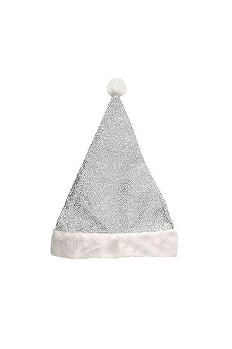 Gümüş Simli Yılbaşı Şapkası 1 Adet