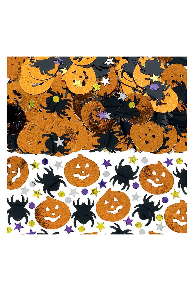 Cadılar Bayramı-Halloween Balkabağı Masa Konfeti 15gr