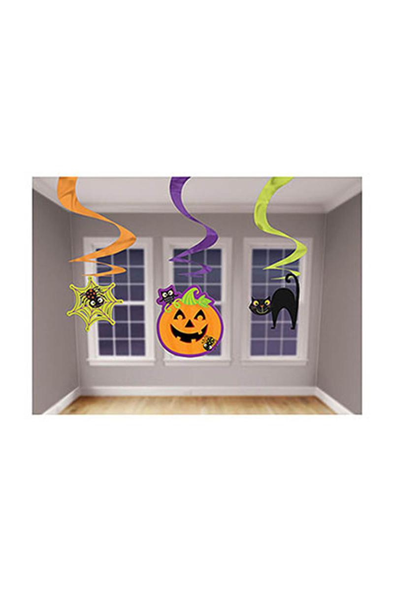 Cadılar Bayramı-Halloween Balkabağı Mini Süs Dalgası 1 Adet