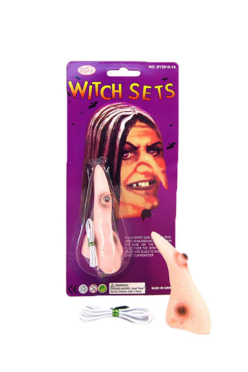 Halloween Cadı Burnu 1 Adet